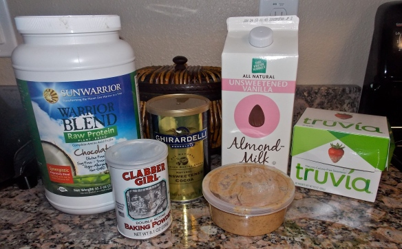 ChocolateAlmondPaleoProteinBrownieIngredients