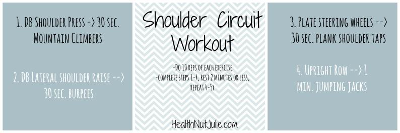Shoulder Circuit Workout