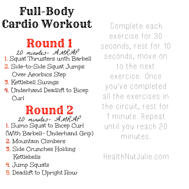 Full Body Cardio Workout