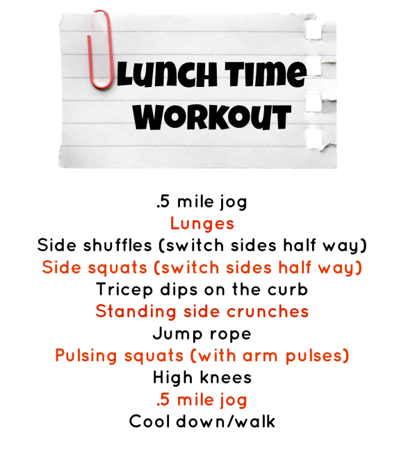 LunchTimeWorkout
